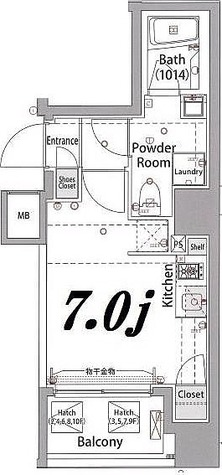 プレセダンヒルズ八王子 / 2階 部屋画像1