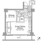 パークハビオ月島 / 1LDK(40.80㎡) 部屋画像1