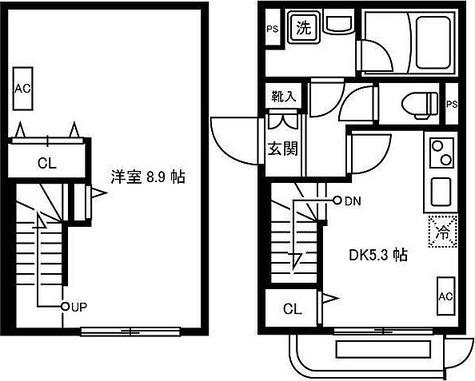 リーガランド大岡山アネックス / -1階 部屋画像1