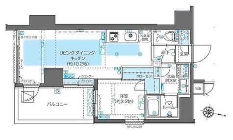 ZOOM神宮前(ズーム神宮前) / 3階 部屋画像1