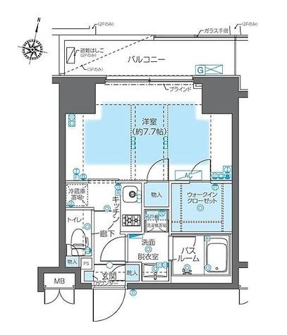 ZOOM神宮前(ズーム神宮前) / 2階 部屋画像1
