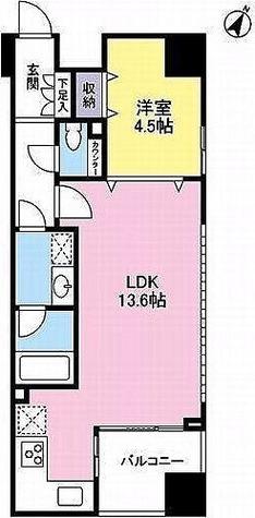プロスペクト渋谷道玄坂 / 2階 部屋画像1