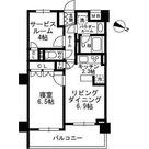 シャンピアグランデ深沢 / 1SLDK(46.45㎡) 部屋画像1