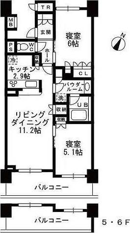 シャンピアグランデ深沢 / 1階 部屋画像1