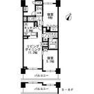 シャンピアグランデ深沢 / 2LDK(56.54㎡) 部屋画像1