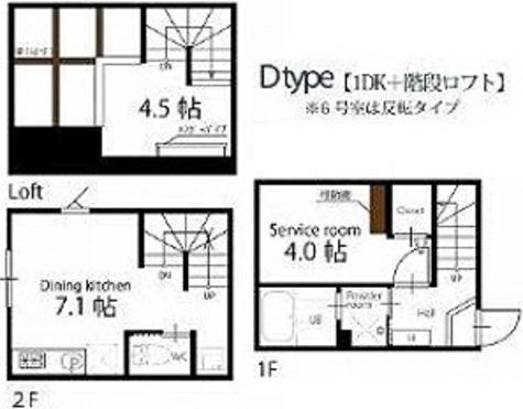 ハーミットクラブハウス久が原 / Dタイプ(31.05㎡) 部屋画像1