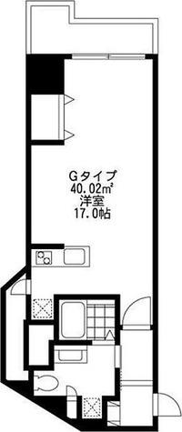 SIDE One(サイドワン) / 1R(40.02㎡) 部屋画像1