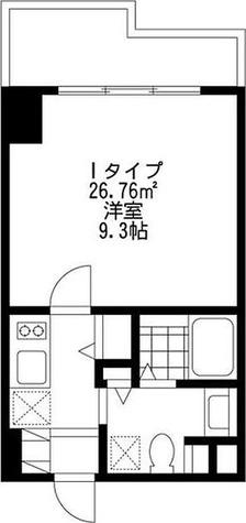 SIDE One(サイドワン) / 1K(26.76㎡) 部屋画像1