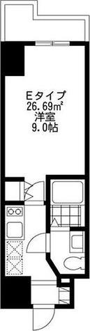 SIDE One(サイドワン) / 1K(26.69㎡) 部屋画像1