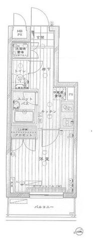 ルーブル野方弐番館 / 6階 部屋画像1