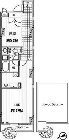 パシフィックコート中延 / 1LDK(49.48㎡) 部屋画像1