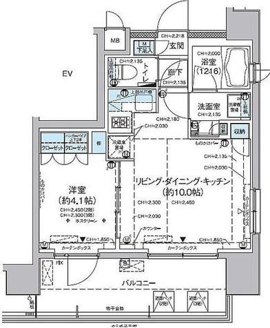 アルティス蒲田イースト / 1LDK(32.58㎡) 部屋画像1