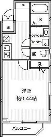 白金高輪レジデンス / Dタイプ 部屋画像1