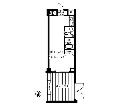 ベルファース三宿 / -2階 部屋画像1