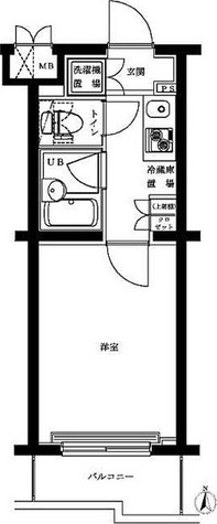 ルーブル蒲田本町 / 1階 部屋画像1