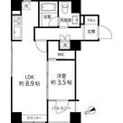 ハイリーフ上野(旧レジディア上野) / 1LDK(39.00㎡) 部屋画像1