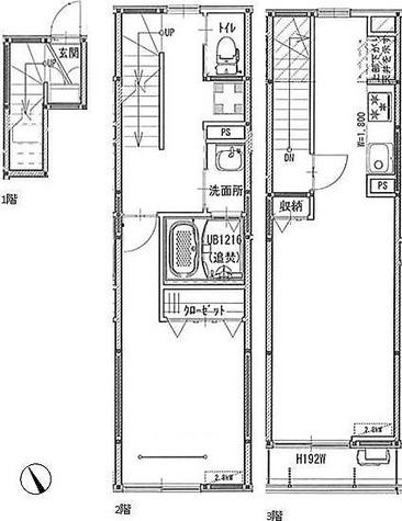エルスタンザ品川二葉 / 1階 部屋画像1