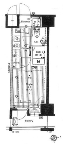 グランド・ガーラ大森 / 2階 部屋画像1