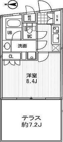 コンフォリア北沢 / 1K(27.76㎡) 部屋画像1