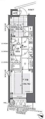 ZOOM都庁前(ズーム都庁前) / Aタイプ 部屋画像1