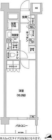 コンフォリア目黒青葉台 / 1K(30.61㎡) 部屋画像1