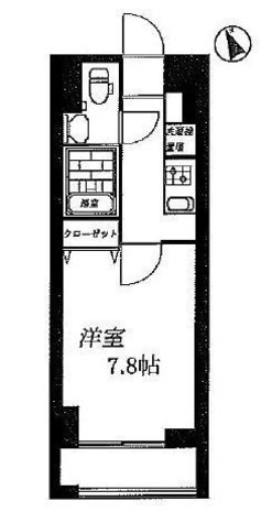 グランフォース横浜関内 / Bタイプ 部屋画像1