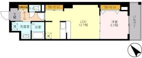 ノーブルヒルズ / 3階 部屋画像1
