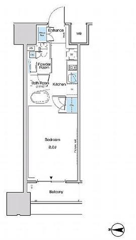 ルフォンブランシェ品川区南大井 / 2階 部屋画像1