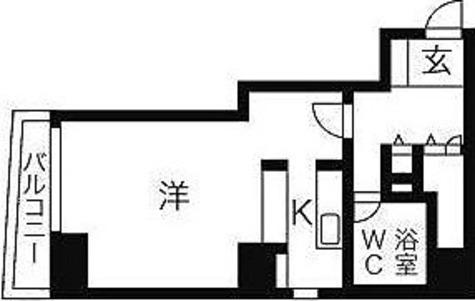 HF八丁堀レジデンスⅢ(旧シングルレジデンス八丁堀Ⅲ) / 2階 部屋画像1