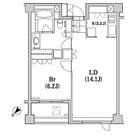 アパートメンツ代々木上原 / 1LDK(52.93㎡) 部屋画像1
