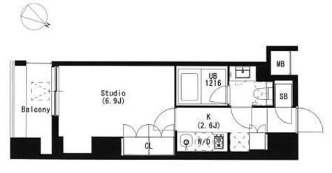 品川イースト / 2階 部屋画像1