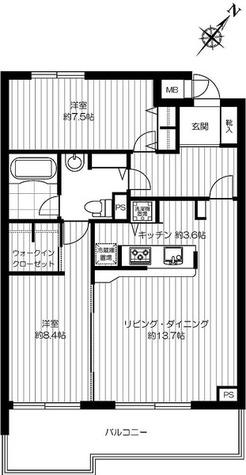 スペーシア恵比寿 / 2階 部屋画像1
