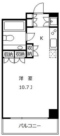 太子堂イースト / 114000 部屋画像1