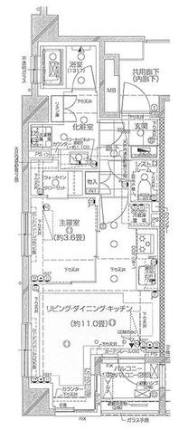 ピアース下北沢 / 1LDK(39.95㎡) 部屋画像1