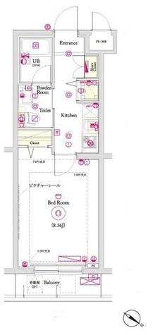 ヴォーガコルテ田端 / 3階 部屋画像1