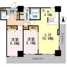 カスタリアタワー長堀橋 / 2LDK63.20㎡-6 部屋画像1