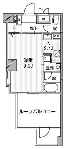 デュオステージ白金高輪 / 2階 部屋画像1