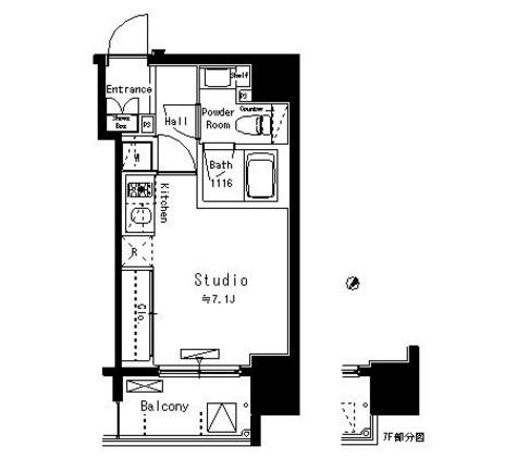 パークアクシス八丁堀 / 11階 部屋画像1