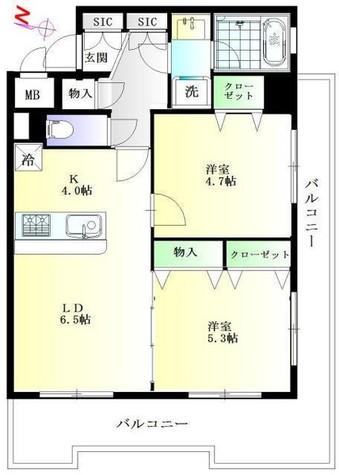 ブルーガーデン初音 / 1階 部屋画像1