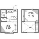 恵比寿 12分アパート / ワンルーム(15.98㎡) 部屋画像1