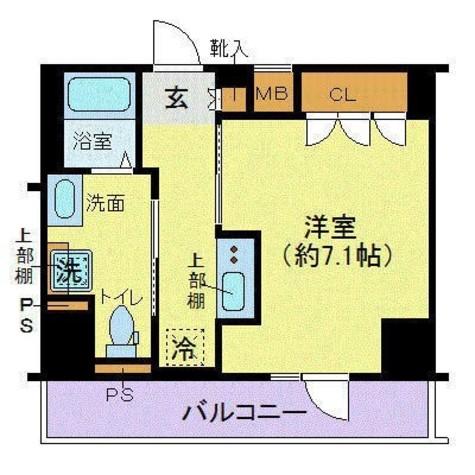 ジェノヴィア東日本橋駅前グリーンヴェール / 6階 部屋画像1