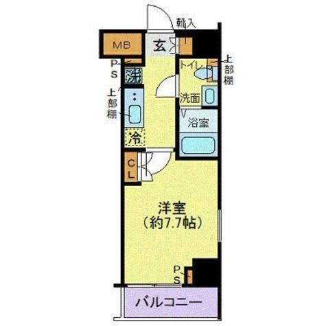 ジェノヴィア東日本橋駅前グリーンヴェール / 401 部屋画像1