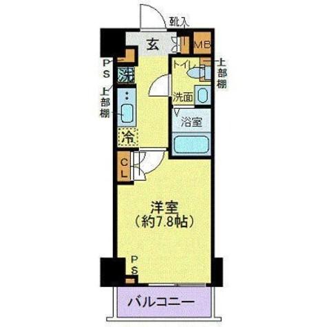 ジェノヴィア東日本橋駅前グリーンヴェール / 2階 部屋画像1