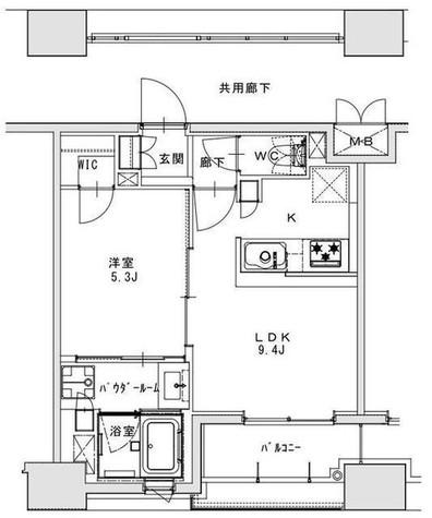 正金アパートメント入船 / 11階 部屋画像1