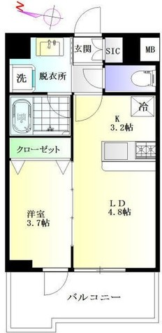 ブルーガーデン初音 / 5階 部屋画像1