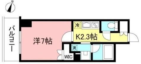 プライムメゾン初台 / 6階 部屋画像1