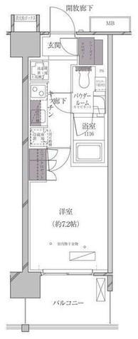A-standard芝浦 / 11階 部屋画像1