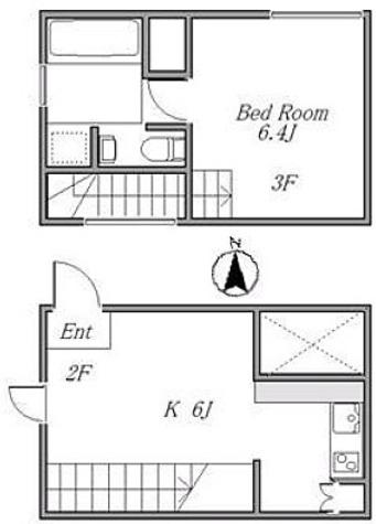 サンフェル恵比寿 / 1DK(39.70㎡) 部屋画像1