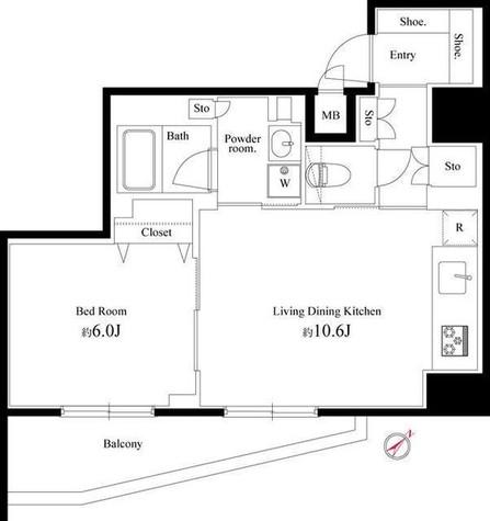 アルテシモプリマ / 5階 部屋画像1
