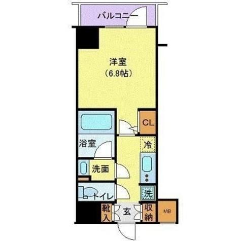 ハーモニーレジデンス浜松町 / 1202 部屋画像1